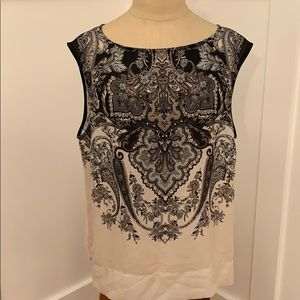 Adrianna Pappell Paisley Blouse